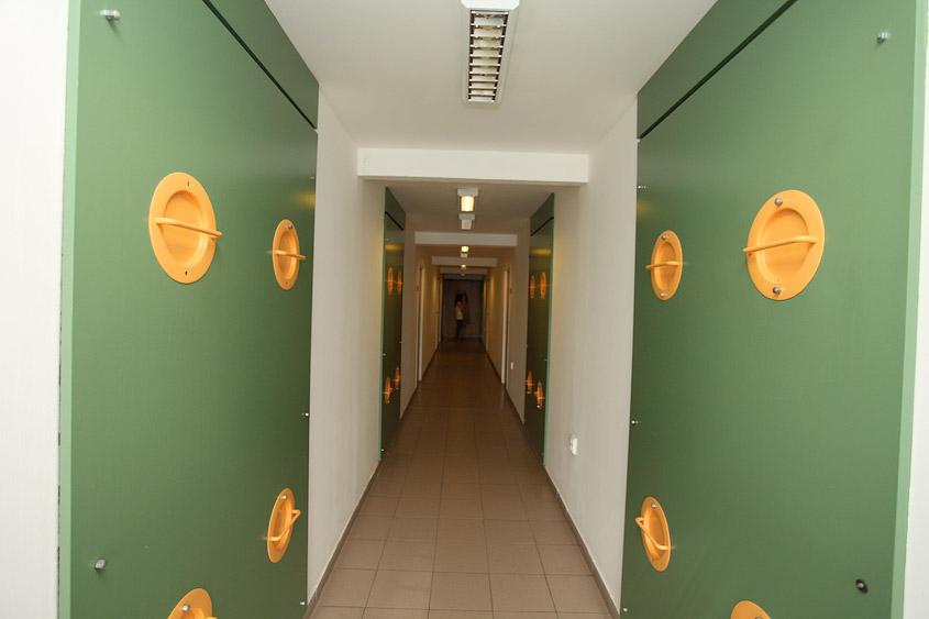 Общежитие ВШХТ Волга в Праге