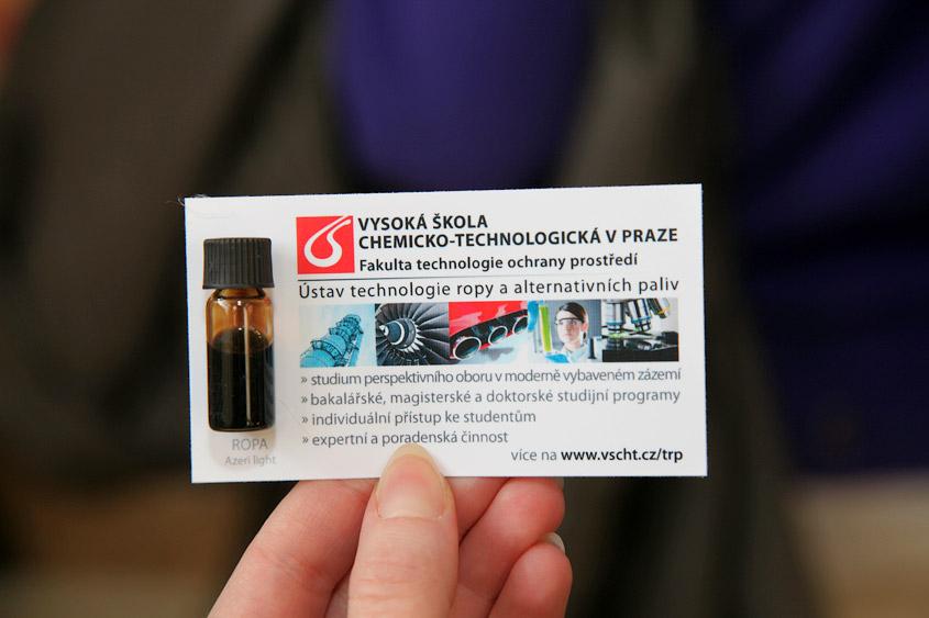 День открытых дверей в пражском университете ВШХТ, Den otevřených dveří na VŠCHT Praha